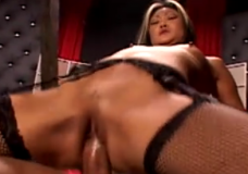 Two asian bitches fucked in the dungeon